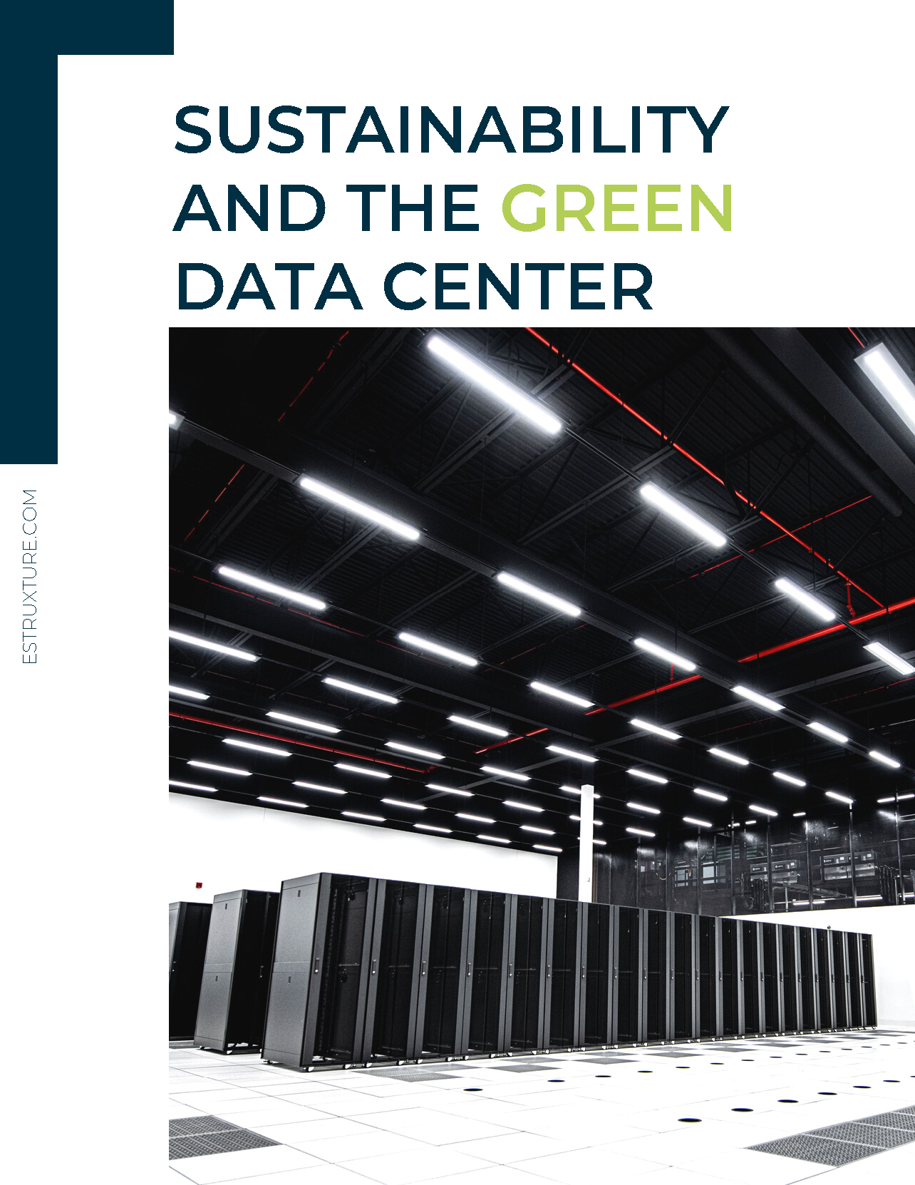 Green Data Center ebook_eStruxture Data Centers_cover